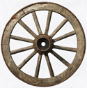Wheel as symbol of emptiness - picture